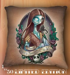 Something in the Wind Pillow by ~telegrafixs on deviantART I know the perfect recipient. so cool.