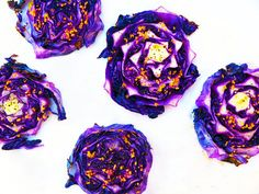 Roasted Red Cabbage Slices | nutritionbymia.com