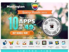 MacLegion spring bundle! Hurry up!