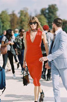 Veronika Heilbrunner, Style Editor at Harper's Bazaar Germany