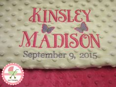 Custom designed personalized baby blankets and baby products at www custom designed personalized baby blankets starting at 65 sun7designs negle Images