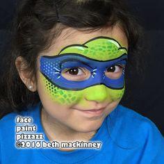 Ninja Turtle Face Paint, Ninja Turtles, Turtle Painting, Body Painting, Face Painting Designs, Body Art, Projects, Dress, Face Paintings