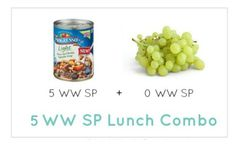 Weight Watcher Lunch Combo 14 - Meal Planning Mommies