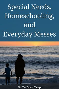 Special Needs, Homeschooling and Everyday Messes - Not The Former Things