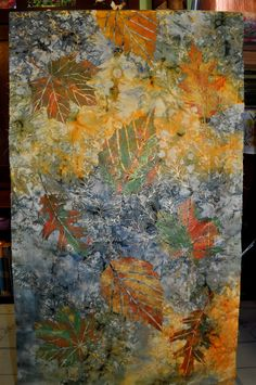 I spent the day packing up for a class next week: Adventures in Art Quilting Series Adventures with Textile Paints Saturday, ...