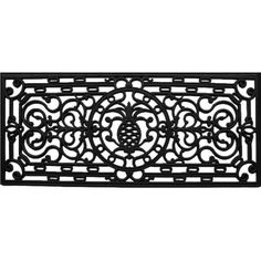 Wildon Home ® Pineapple Heritage Doormat & Reviews | Wayfair