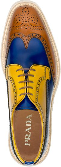 Colorblock Brogues....sigh.
