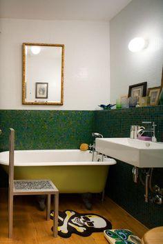 Bildergebnis für badezimmer grün