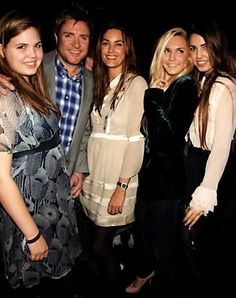 Yasmin &  Simon Le Bon w/  Daughters