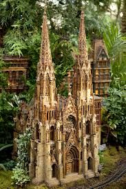St. Patrick's Cathedral. New York botanical garden