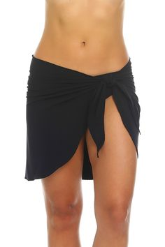Find a perfect black stretch wrap cover up at Tara Grinna. Shop for exclusive bathing suits and cover ups that flatter all body types! Black Swimsuit, Swimsuit Tops, One Piece Swimsuit, Swimsuits, Swimwear, Tankini, Bathing Suits, Stretches, Cover Up