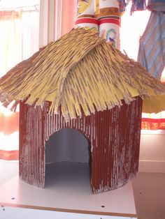 gif African Crafts Kids, African Art Projects, African Hut, African Safari, Preschool Coloring Pages, Preschool Art, 3 Little Pigs Activities, Peach Rooms, Art For Kids