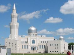 Baitul Islam Mosque, Maple, Ontario, Canada Religious Architecture, Beautiful Architecture, Art And Architecture, World's Most Beautiful, Beautiful World, Islamic World, Islamic Art, Ontario, Les Religions