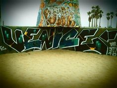 Venice Beach Graffiti - I'm a Cali girl so Venice Beach will always be one of my fav places to be!