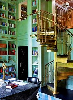 A lovely home library