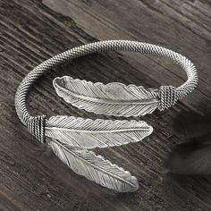 Three Feathers Bracelet - Horse Themed Gifts, Clothing, Jewelry and Accessories all for Horse Lovers | Back In The Saddle