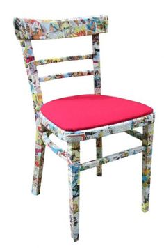 I think I'm gonna cover one of our old dining chairs with stickers for my scrapbooking desk!!