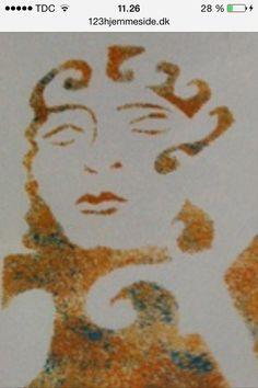 Seven Gothic Waves Stencil Logo