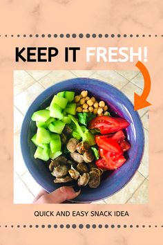 Want to eat healthy but getting bored? Here's what I do to keep things fresh.