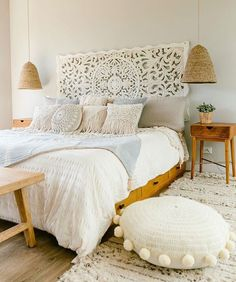 #White #bedrooms Lovely House Decorations