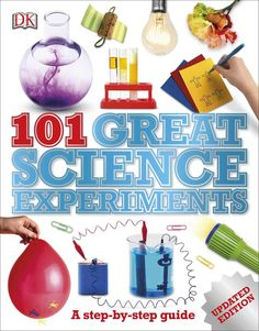 Whether you're looking for science project ideas for the science fair or you just want fun science experiments to do with your child to encourage learning at home, 101 Great Science Experiments is a f