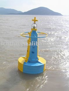 boat buoy with light
