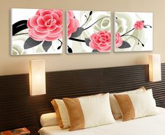 Aliexpress.com : Buy DIY Painting Love Roses Large Paint by Number Kit Set of Three PBN YT17020 from Reliable Paint by number suppliers on HAN ARTS