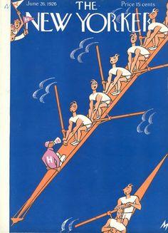Julian de Miskey : Cover art for The New Yorker 71 - 26 June 1926