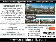 Exclusive Investment Opportunity - Purchase a Townhouse from $324,900