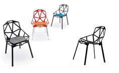 Flos e Vitra Design Museum mostram peças de Konstantin Grcic Milan Furniture, Bar Furniture, Modern Furniture, Furniture Design, Vitra Design Museum, Bar Chairs, Desk Chairs, Sofa Chair, Modern Chairs