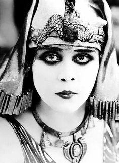 Image result for theda bara cleopatra
