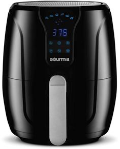 New Gourmia Digital Air Fryer Oil Free Healthy Cooking Quart Capacity 6 Preset Cook Modes Removable, Dishwasher Safe Tray Free Recipe Book Included online shopping Looknewclothingshop Oil Free Fryer, No Oil Fryer, Healthy Fryer, Healthy Cooking, Air Fryer Sale, Bulthaup Kitchen, Fryer Machine, Air Fryer Review, Boffi