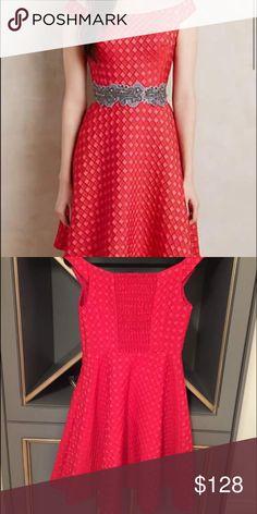 Moulinette Soeurs dress Size 8 but fits like a 6 NWT gorgeous dress Anthropologie Dresses
