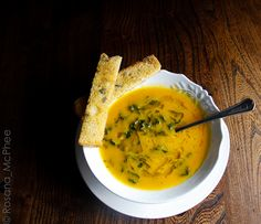 Hot & Chilli food and travel blog, pumpkin and kale soup
