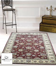 Tappeto disegno persiano con eleganti rifiniture