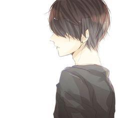 Anime boy, brown hair