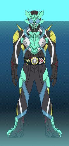 Nightingale Armor, Zero One, Kamen Rider Series, Marvel Entertainment, Manga Artist, Character Art, Suit, Superhero, Anime