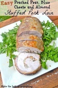 Cilantro Pesto-Stuffed Pork Tenderloin With Summer Succotash Recipes ...