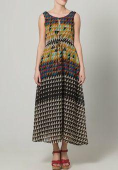 Yumi - PIXEL - Vestito lungo - multicolore