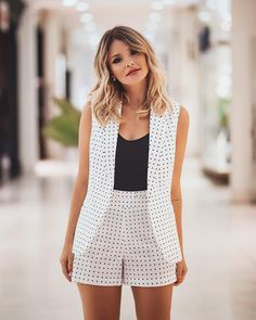 Cute Dresses, Tops, Shoes, Jewelry & Clothing for Women Classy Outfits, Chic Outfits, Casual Chic, Casual Wear, Short Outfits, Summer Outfits, Mode Kimono, Fashion Sewing, Workwear Fashion