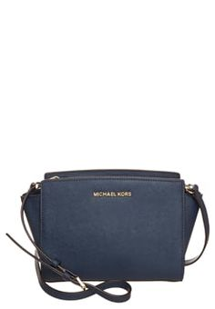 MICHAEL Michael Kors SELMA - Across body bag - navy £195.00 #Reviews #shopping #ClothingSale