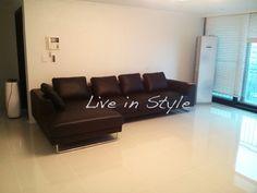 Leather L-Shape Sofa - Max2917