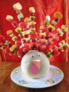Gluten Free Fruit & Cheese Thanksgiving Turkey + Gluten-Free Recipes and Tips & Tricks from Glutenista