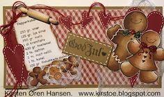 Kirstens Hobbyblogg: Pepperkaker hører julen til....