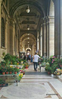 Mercado de flores e em Florença Firenze - Piazza della Repubblica