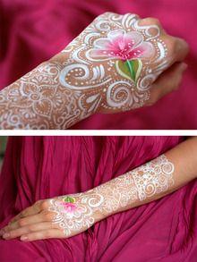 More details on my blog: http://ingrenoble.ca/art/ face paint facepaint arm hand henna like