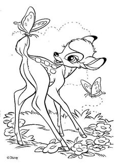 BAMBI coloring pages - Bambi 17