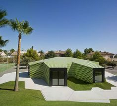 """""""The project developed for the new installation took into account that it was for a satellite town hall, in reality a representative pavilion. The unique. Outdoor Furniture Sets, Outdoor Decor, Town Hall, Alicante, The Expanse, Pavilion, Minimalism, Spain, Architecture"""