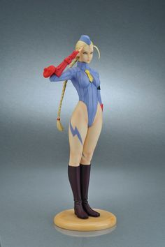 Capcom Girls Collection Street Fighter ZERO Cammy Blue Ver. Complete Figure(Released)