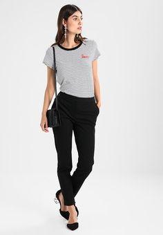 LOVE TEE - T-shirt z nadrukiem - black